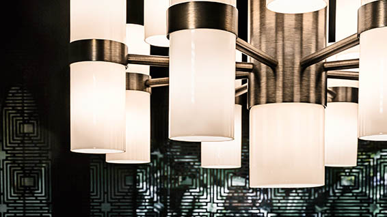 plays of light elegant lighting for luxury furnishings
