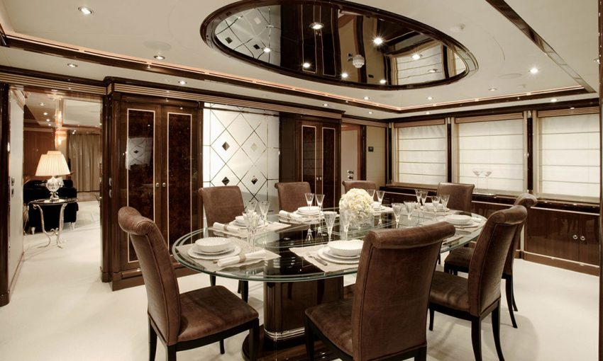 Smania contemporary yacht furniture