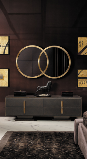 Smania modern and classic design mirrors