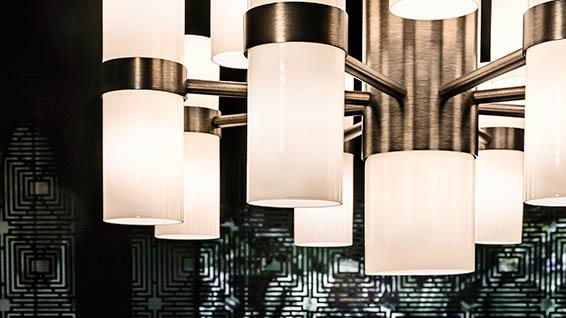 plays of light elegant lighting for luxury furnishings